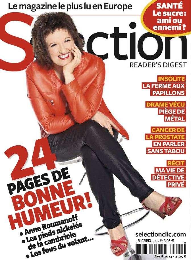 Sélection du Reader's Digest N°787 Avril 2013