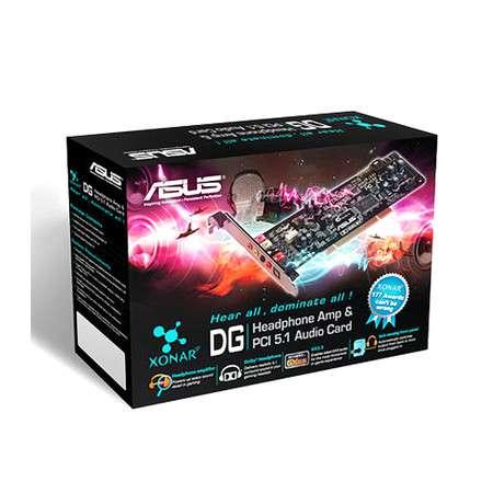 Placa de Som Asus Xonar DG 5.1 Canais - PCI