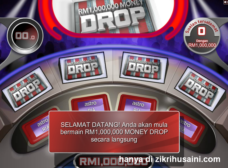 1 million drop money, 1 juta money drop, program 1 million money drop asto 104