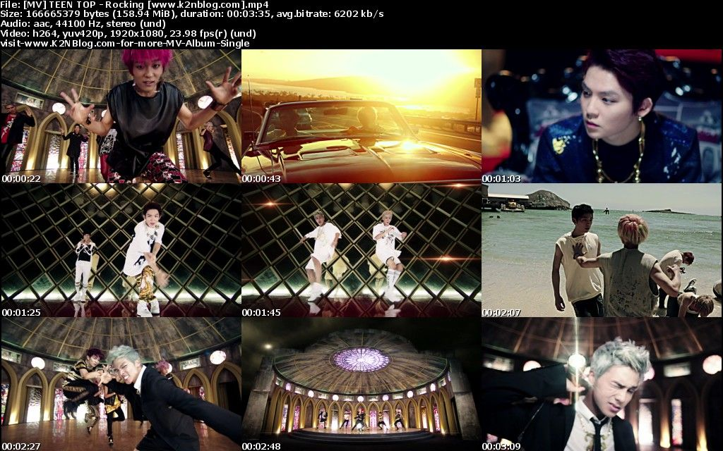 [MV] TEEN TOP - Rocking [HD 1080p Youtube]