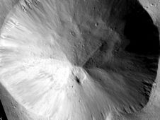 This image shows examples of straighter,<br /> shorter, wider gullies that scientists<br /> on NASA&#39;s Dawn mission have found on<br /> the giant asteroid Vesta.<br /> Image credit: NASA/JPL-Caltech/UCLA/<br /> MPS/DLR/IDA<br /> <a href='http://www.nasa.gov/mission_pages/dawn/multimedia/pia16491.html' class='bbc_url' title='External link' rel='nofollow external'>� Full image and caption</a>