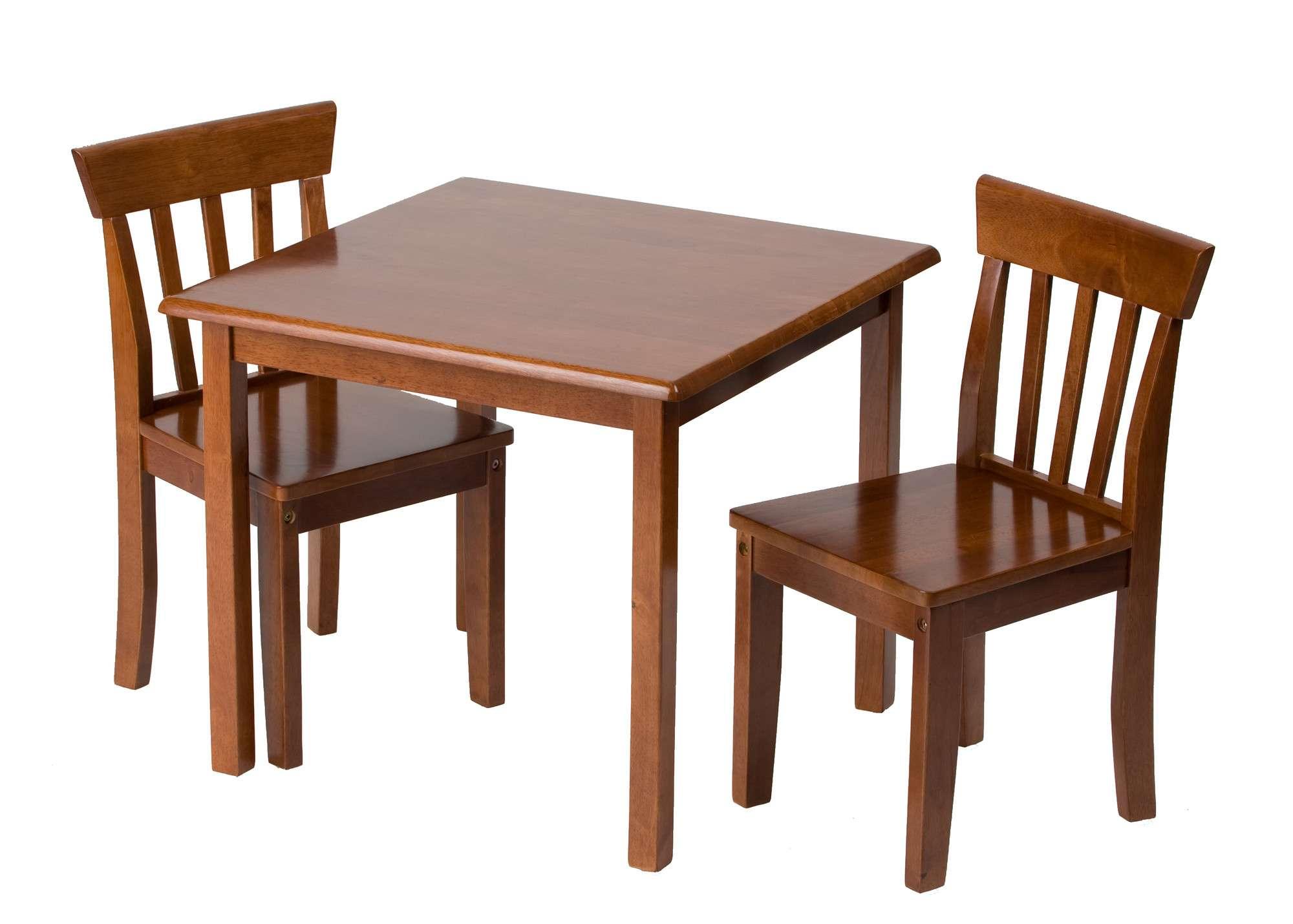 Mesa infantil color cereza 2 sillas estudio deluxe vv4 - Mesa estudio infantil ...