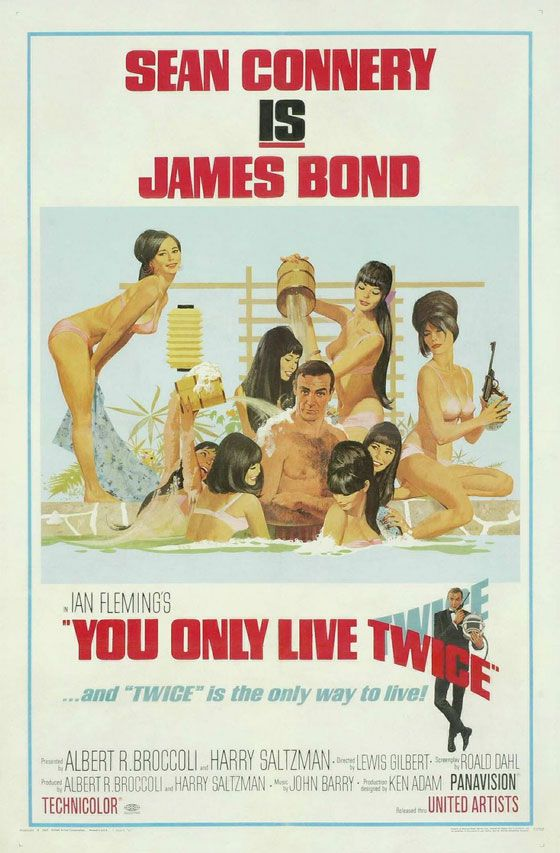 James Bond 007 You Only Live Twice Poster