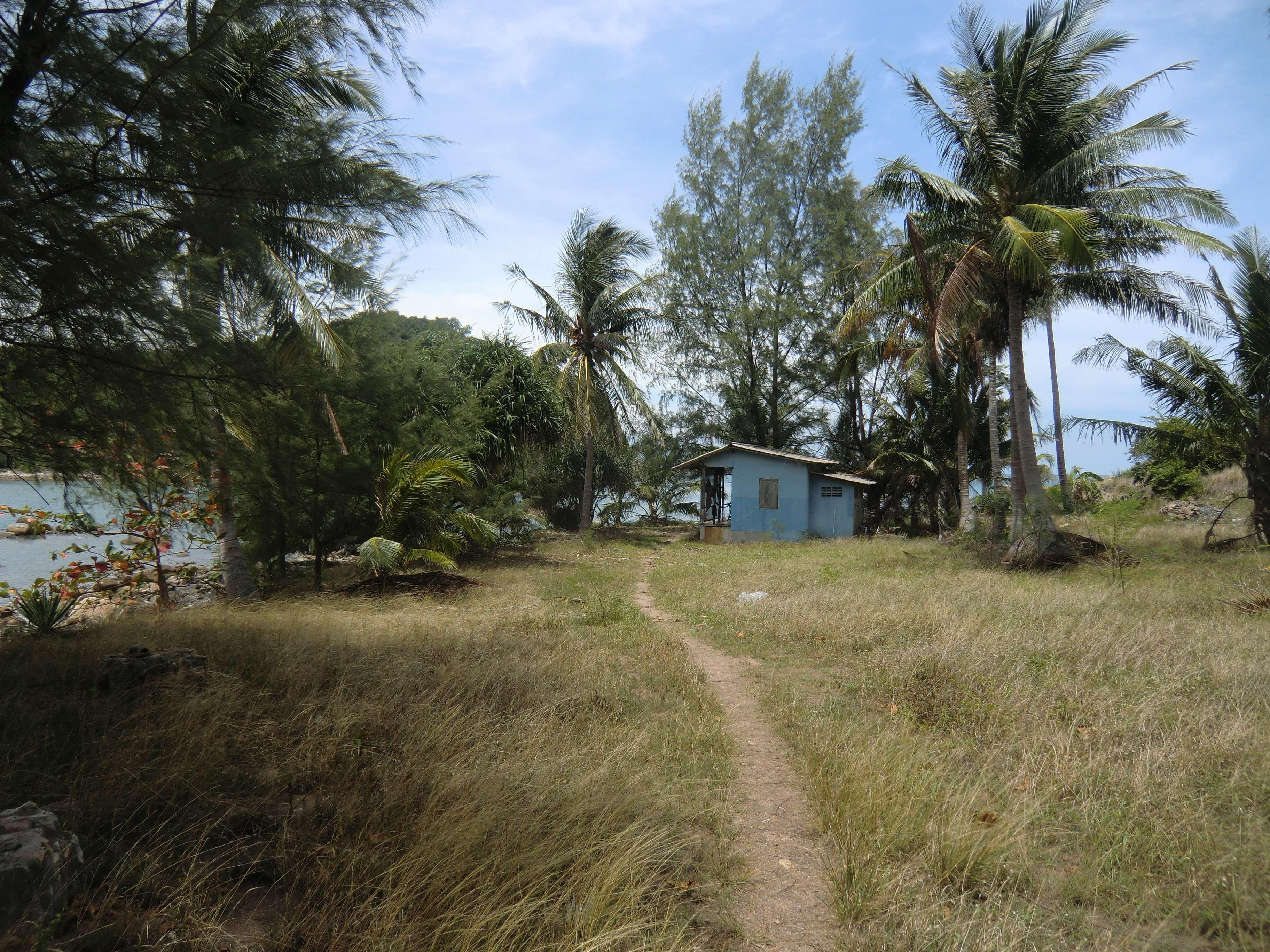das muss noch eine der ersten Hütten sein, die hier erbaut wurden....