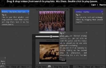 Mezclas con Videos